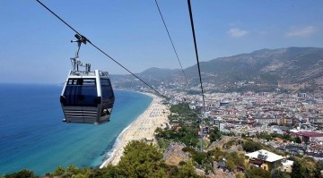 To see Alanya from a bird's eye view! 360x0